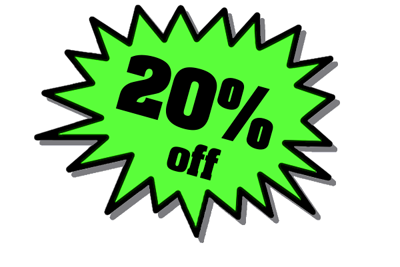 20 % sale