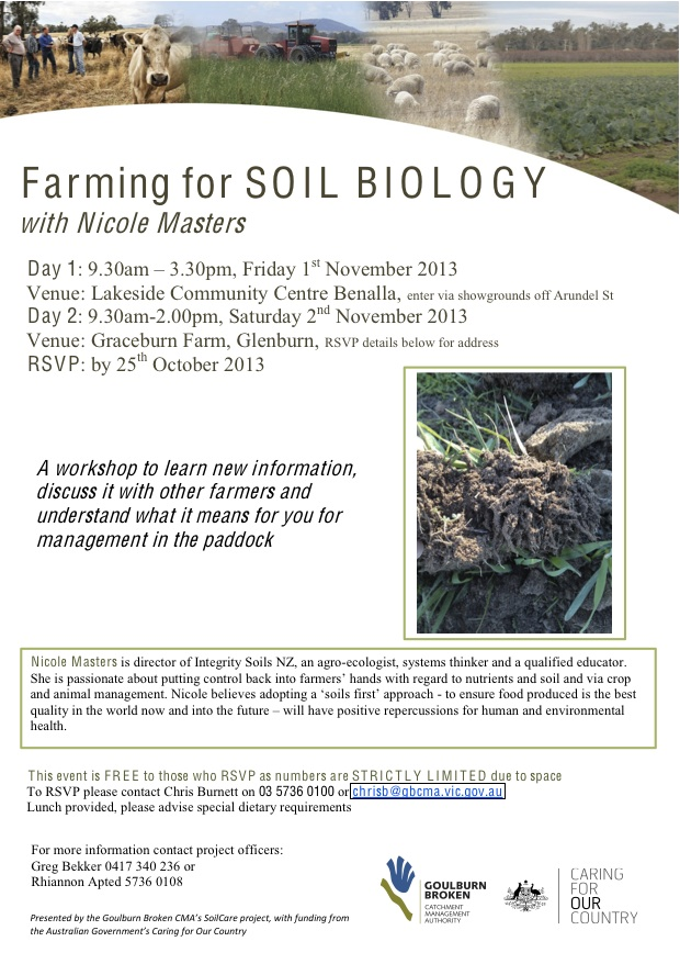 Soil Biology Forum Nov 1st 2013